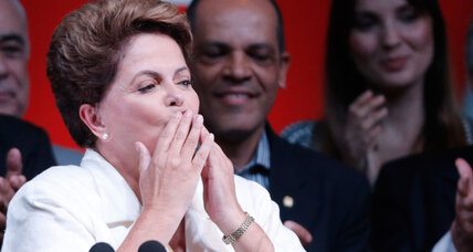 Challenges face Brazil's Rousseff after winning re-election