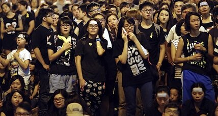 The Hong Kong 'umbrella revolution' pokes at China's conscience
