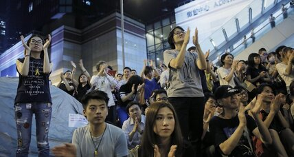 In Hong Kong, a global contest over models of governance