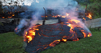 National Guard called out in Hawaii for lava flow