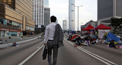 Hong Kong returns to some kind of normalcy as protests shrink