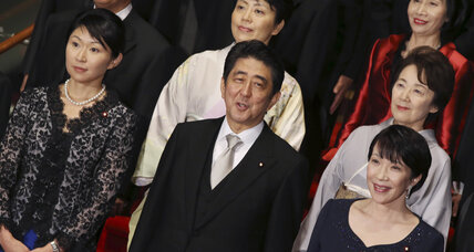 Double-whammy for Japan's Shinzo Abe: Two female cabinet ministers resign (+video)