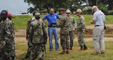 Ebola: The kind of enemy the US military excels at fighting