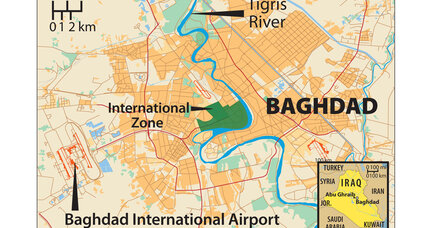 What would an actual battle for Baghdad look like?