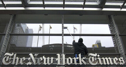 New York Times to cut 100 newsroom jobs; stock jumps