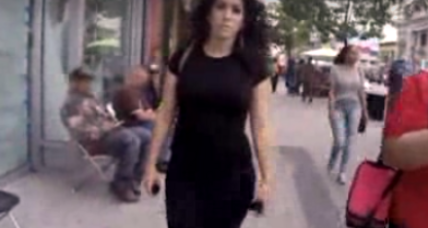 He videotaped her walking around Manhattan. This many men harassed her