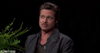 Things get awkward with Brad Pitt on 'Between Two Ferns'
