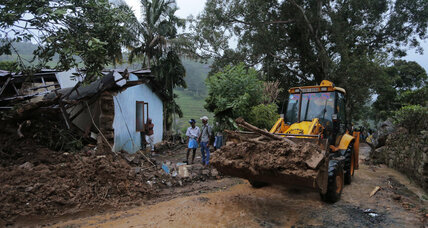 At least 10 dead, over 250 missing after Sri Lankan mudslide