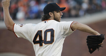 World Series: Bumgarner pitches Giants past Royals in Game 5