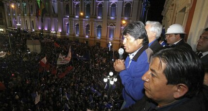 Bolivia's Evo Morales wins third term: Can he maintain national approval?