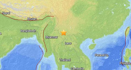At least one dead after strong earthquake rattles China's southwest