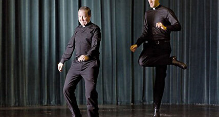 Watch dancing priests: Sacrilegious or just plain fun?