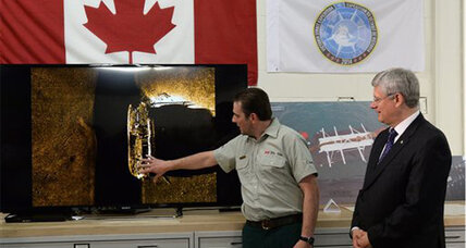 HMS Erebus found: Canada identifies long lost British explorer ship