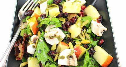 Apple fall salad