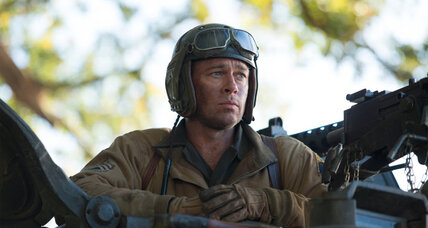 World War II drama 'Fury' beats 'Gone Girl' at the box office