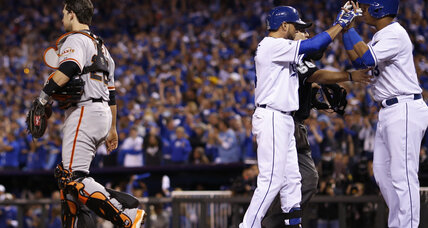 World Series 2014: Royals rebound for Game 2 win over Giants