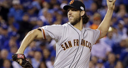 World Series: Bumgarner, Giants roll over Royals in Game 1