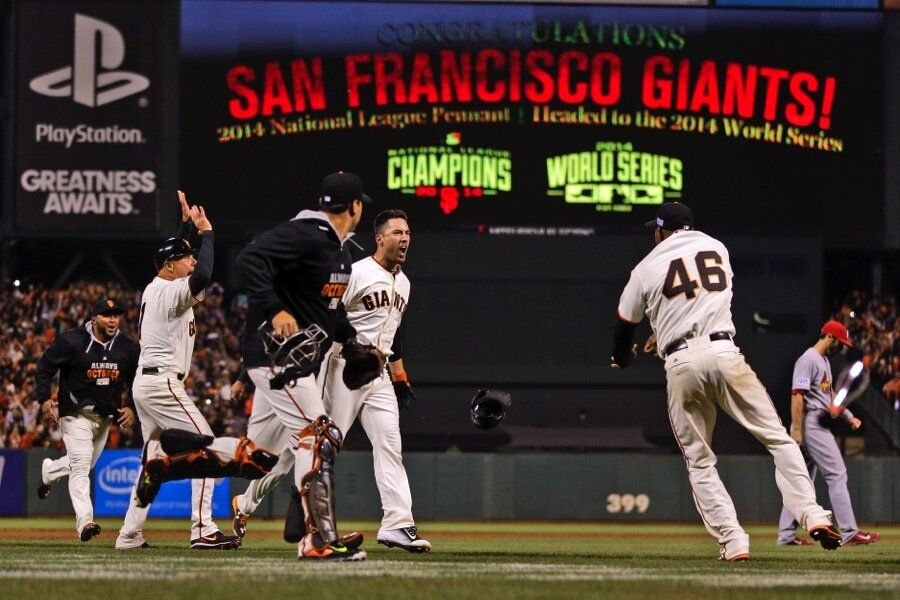 Giants head back to World Series with NLCS win over