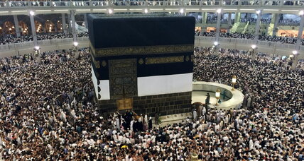 Mecca pilgrims snap selfies as Eid al-Adha ends