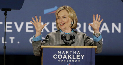 Hillary Clinton says businesses don't create jobs. Uh-oh. (+video)
