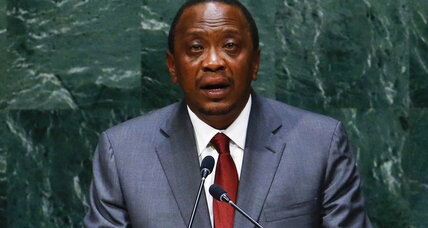 Kenyan president to temporarily step down for ICC hearing