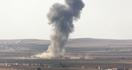 Islamic State extends grip on Kobane amid further US airstrikes