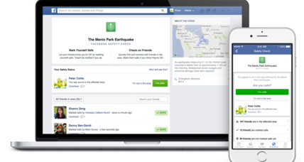 Facebook Safety Check offers families peace of mind after disasters