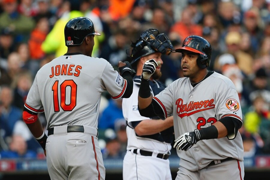 ALCS Royals Orioles Back Where They Once Belonged