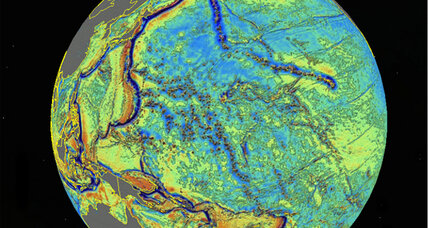 New ocean floor map reveals hidden seamounts – thousands of them