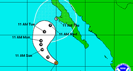 Hurricane Simon now at Cat. 3, but where is it headed?