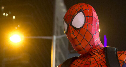 Short Spider-Man robs Maine store
