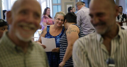 Vegas weddings for all: Gay couples in Nevada get marriage licenses