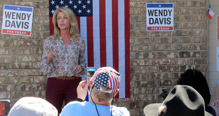 What happened to Wendy Davis? Texas' once-rising star set to fall. (+video)