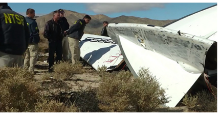 Virgin Galactic spaceship broke apart midair, say investigators