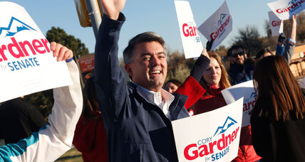 Election 2014 live blog: Colorado puts GOP on brink of Senate takeover (+video)