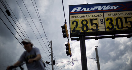 Is Obama lowering gas prices to win votes?