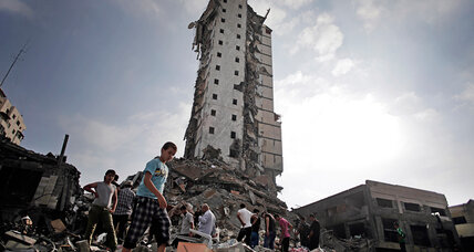 Amnesty calls Israeli airstrikes on homes in Gaza 'war crimes'