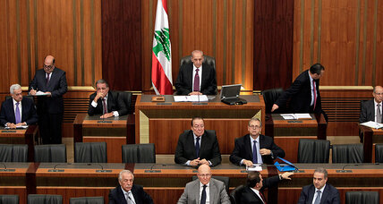 Is sectarian strife in Mideast dimming Lebanon's 'beacon of democracy'?
