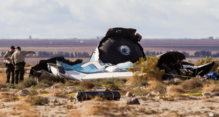 SpaceShipTwo crash investigators: Feathering device unlocked early