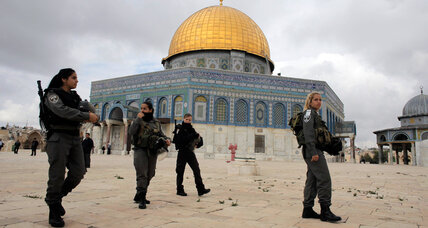 Israel bolsters security at Jerusalem holy site ahead of Friday prayers