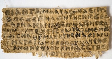 1,400-year-old manuscript points to Jesus' wife and kids, authors say