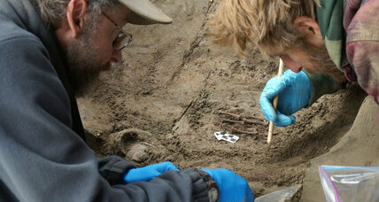 Ice Age infant burial ground offers clues to life for early Arctic settlers (+video)