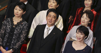 For Japanese women, Abe's vision of 'womenomics' losing its shine