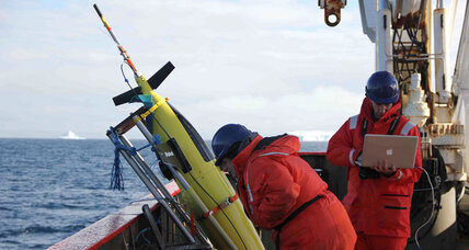 Underwater robot 'dolphins' offer clues to Antarctic melt