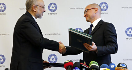 Nuclear curve ball? Russia inks deal with Iran for new reactors