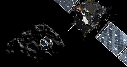 Will Philae successfully land on comet? Thruster trouble heightens drama.