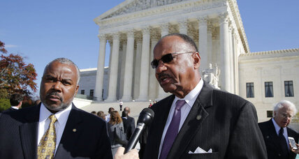 Supreme Court weighs role of race in Alabama voter redistricting case