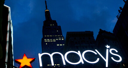 Macy's earnings offer clues to the holiday shopping season (+video)