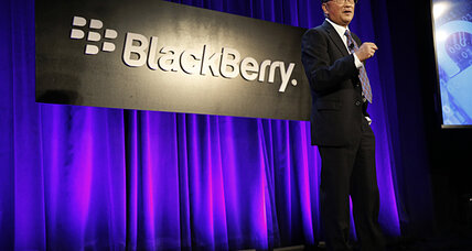 BlackBerry (BBRY) to provide security for Samsung (SSNLF) phones