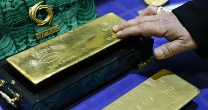 Can gold deflect Western economic attacks? The Kremlin thinks so.
